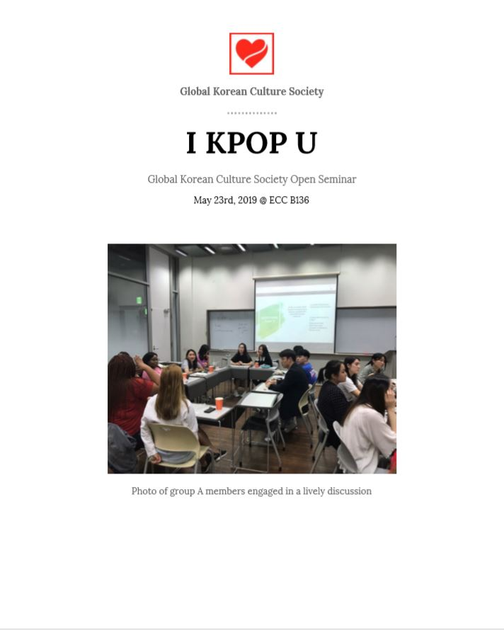 Discussion about k-pop